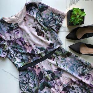 ASOS Purple Floral Dress